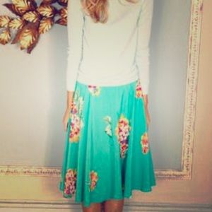 Adorable Boden Floral Skirt
